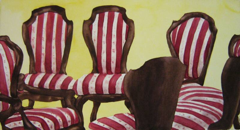 Chair Study – Watercolor