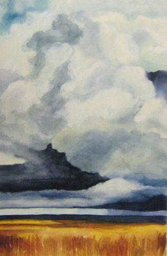Cloud Study – Watercolor