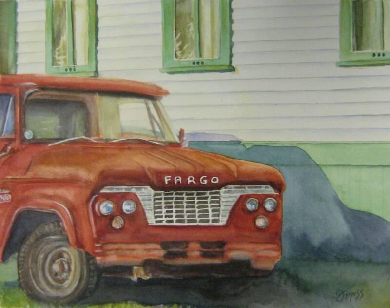Fargo – Watercolor – 7.5″ x 9.5″
