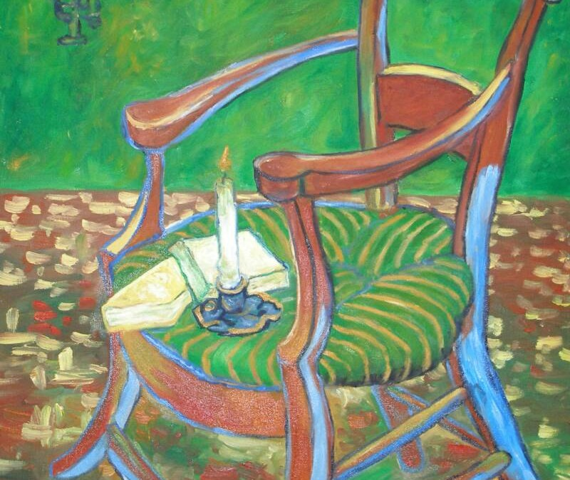 "Gauguin""s Chair – Oil – 24″ x 20″"