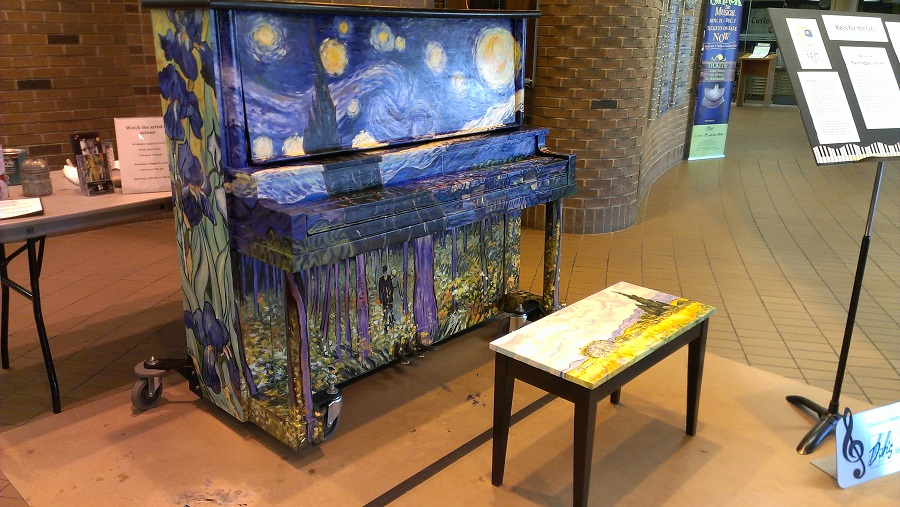 Keys for the City, A St. Albert Street Piano Project – Play It Again, Vincent