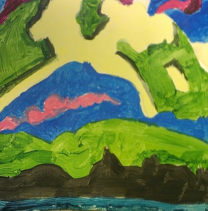 Acrylic – Age 10