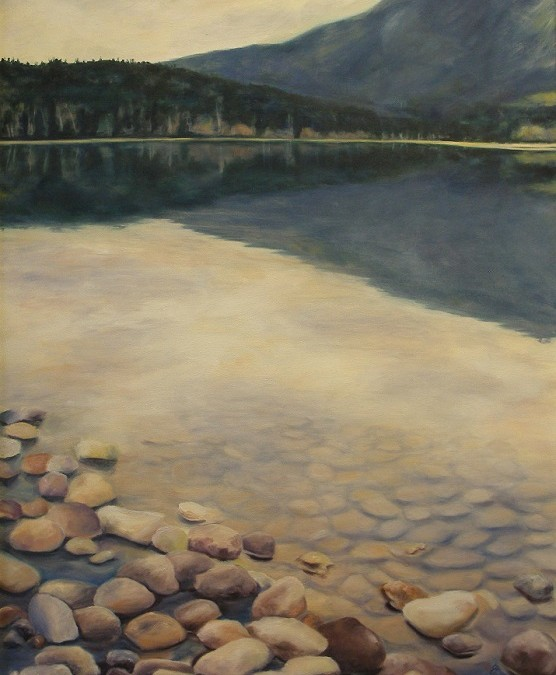 A Quiet Reflection – Oil – 34″ x 24″