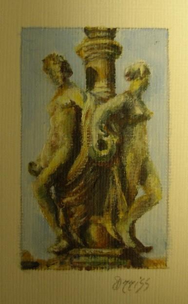 Beauty, Bordeaux, France – Acrylic – 4 cm x 2.5 cm