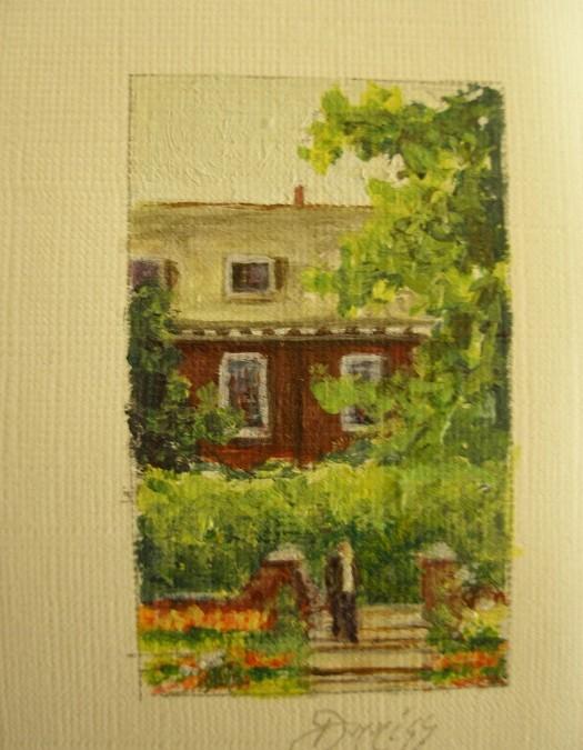 Kensington Palace – Acrylic – 4 cm x 2.5 cm