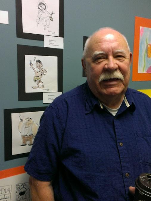 Ron – Adult – Cartooning