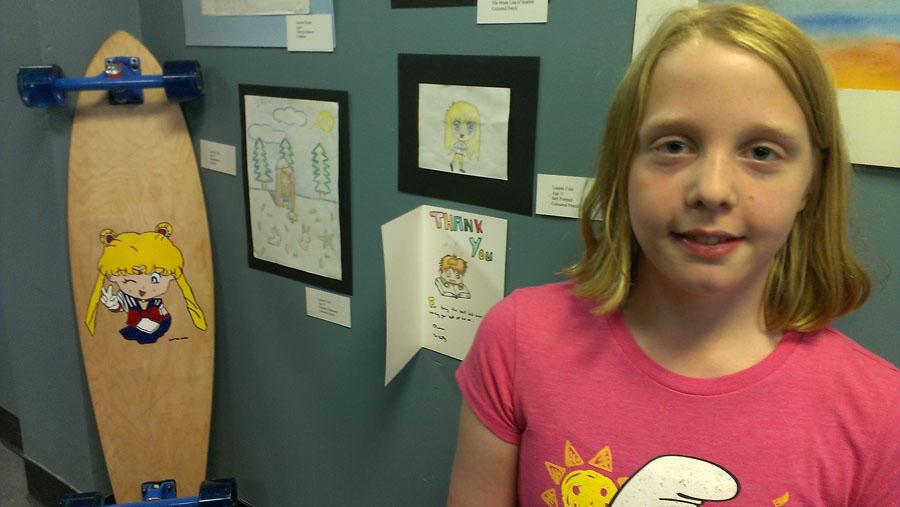 Lauren – Grade 6 – Cartooning