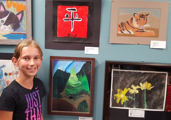 Keira L. – People's Choice Award Winner – Oil
