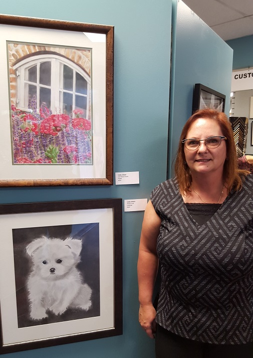 Cathy G. – pastel & charcoal