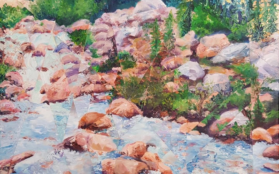 Arise – 30″ x 24″ – Acrylic on Canvas