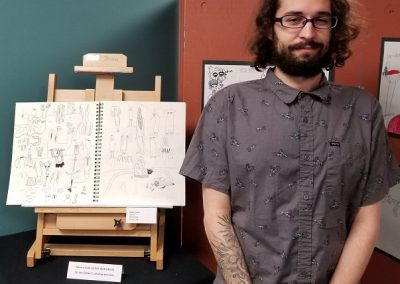 Dylan O. – Cartooning
