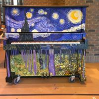 Starry Night! - A Street Piano Project