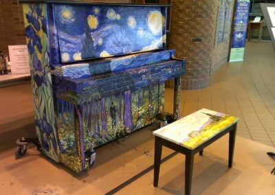 Keys for the City, Street Piano Project - Piano and Bench